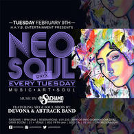 "Neo Soul Tuesday presents ""Art & Soul"""