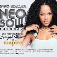 Neo Soul Tuesday presents Live Performance by Serayah from EMPIRE