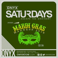 Onyx Saturday: Escape the Ordinary presents Mardi Gras