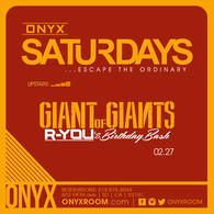 Onyx Saturday: Escape the Ordinary presents Giant of Giants!
