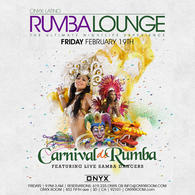 Rumba Lounge Fridays presents Carnival de Rumba