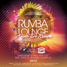 Onyx Room: Rumba Lounge Fridays presents Agusto de Rumba