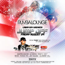 Rumba Lounge Friday presents Jump Off Party Labor Day Weekend