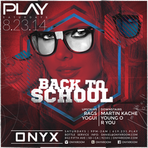 PLAY Saturdays presents Play Back to School