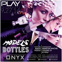 PLAY Saturdays presents Models & Bottles