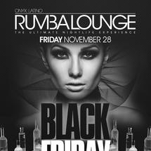 Rumba Lounge Friday presents Black Friday