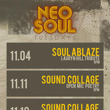 Neo Soul Tuesdays presents Sound Collage