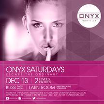 Onyx Saturdays- Escape the Ordinary