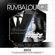 Rumba Lounge Friday presents Black & White Affair