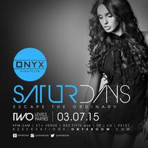 Onyx Saturday: Escape the Ordinary
