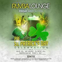 Rumba Lounge Fridays presents pre St. Patrick's Day Celebration