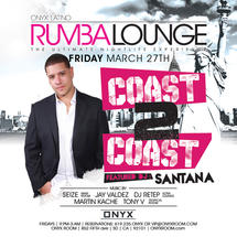 Rumba Lounge Fridays presents Coast 2 Coast