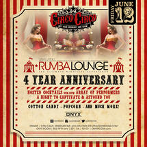 Rumba Lounge's 4th Year Anniversary presents Circo Circo