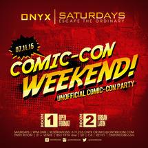 Onyx Saturday: Escape the Ordinary present Comic Con