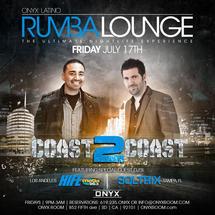 Rumba Lounge Fridays presents Coast 2 Coast