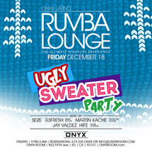 Rumba Lounge Fridays presents Ugly Sweater Party